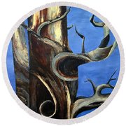 Bristlecone Tree No. 2 Round Beach Towel