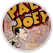 Broadway: Pal Joey, 1940 Round Beach Towel