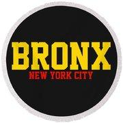 Bronx Round Beach Towel