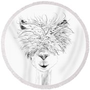 Bruce Round Beach Towel