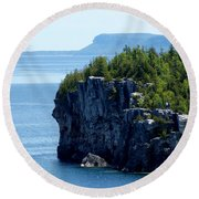 Bruce Peninsula National Park Round Beach Towel by Cale Best
