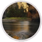 Bruneau Canyon Round Beach Towel