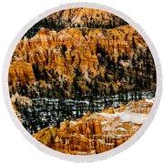 Bryce Canyon Series #3 Round Beach Towel