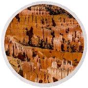 Bryce Canyon Series #4 Round Beach Towel