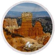 Bryce Canyon Series #5 Round Beach Towel