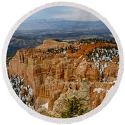 Bryce Canyon Series #7 Round Beach Towel