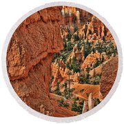 Bryce Canyon 21 - Sunrise Point Round Beach Towel