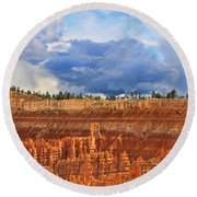 Bryce Canyon 27 - Sunset Point Round Beach Towel