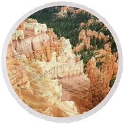 Bryce Canyon Beauty Round Beach Towel