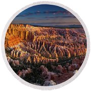 Bryce Canyon Early Morning Round Beach Towel
