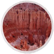 Bryce Canyon Hoodoos Round Beach Towel