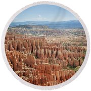 Bryce Canyon National Park 1 Round Beach Towel