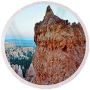 Bryce Canyon Navajo Loop Trail Round Beach Towel