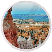 Bryce Canyon Thors Hammer Round Beach Towel