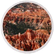 Bryce Canyon Vertical Round Beach Towel
