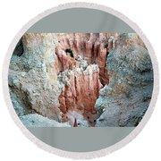 Bryce Crags Round Beach Towel