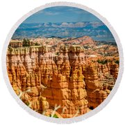 Bryce -tall Round Beach Towel