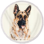 Bubba Round Beach Towel