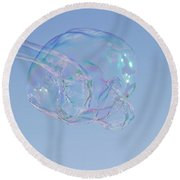 Bubble Fun 1 Round Beach Towel