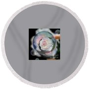 Bubbles Of Love Round Beach Towel