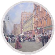 Buchanan Street Round Beach Towel