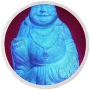 Buddha Round Beach Towel