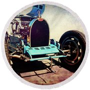 Bugatti Type 35c Round Beach Towel