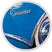 Buick Century Wheel Round Beach Towel