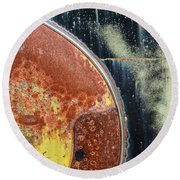 Buick Fender Abstract Round Beach Towel