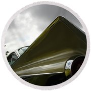 Buick Fin Round Beach Towel