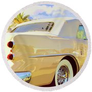 Buick Super Round Beach Towel