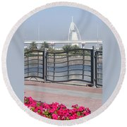 Burj Al Arab Round Beach Towel