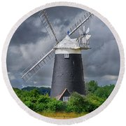 Burnham Overy Mill Round Beach Towel