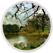 Butlers Retreat Epping Forest Uk Round Beach Towel