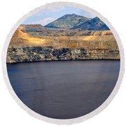 Butte Montana - Lake Berkeley Round Beach Towel