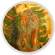 Butterfly - Tile Round Beach Towel