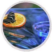 Butterfly 6316 Round Beach Towel