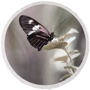 Butterfly Bliss Round Beach Towel