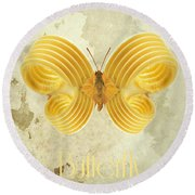 Butterfly IIi Round Beach Towel