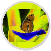 Butterfly Works Number 10 Round Beach Towel