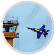 Buzz The Tower Round Beach Towel