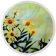 By And By Round Beach Towel
