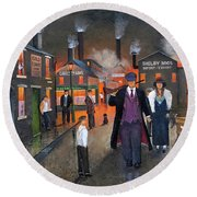 By Order Of The Peaky Blinders Round Beach Towel by Ken Wood