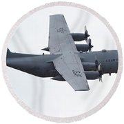 C-130 Hercules Round Beach Towel