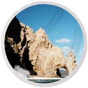 Cabo San Lucas Arch Round Beach Towel