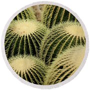 Cactus Party Round Beach Towel