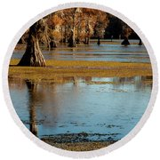 Caddo Lake 2016 Round Beach Towel