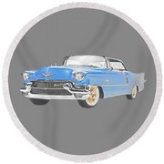 Caddy T-shirt Round Beach Towel