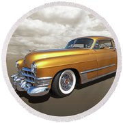 Cadillac Sedanette 1949 Round Beach Towel