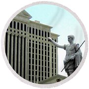 Caesars Palace Round Beach Towel